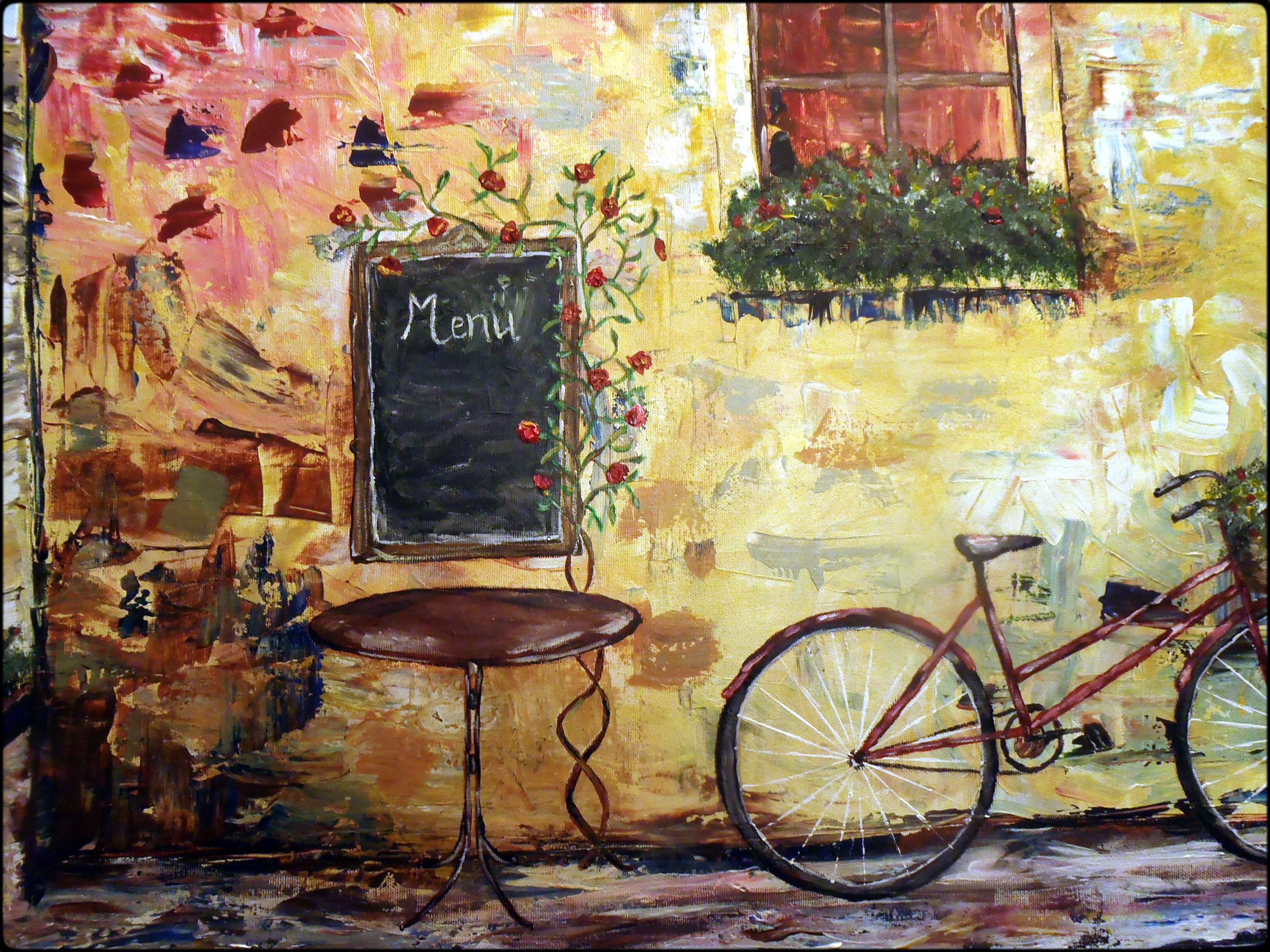 Fantastic French Cafe Wall Art Ornament - The Wall Art Decorations ...