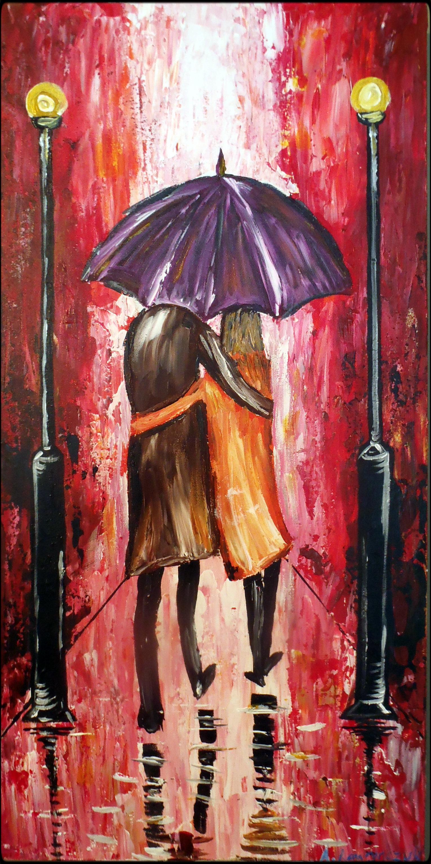 """10x30"""" - Acrylic on Canvas"""