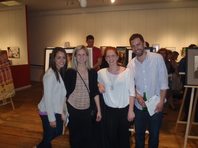 From left: Steph, Christie, Amy, and Keegan